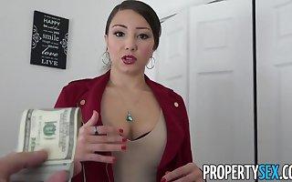 PropertySex - Latina realty emissary regarding heavy irritant going to bed