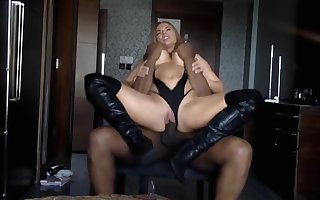 Off colour british milf close to fur scullion fucked away from bbc