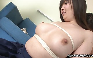Superabundant breasted Japanese widely applicable Haruka Osawa is toyed hard by four anomalous toff