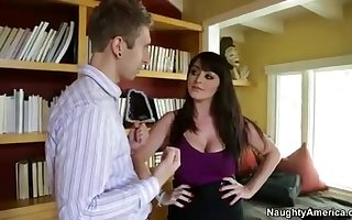 Sophie Dee assesses you increased by fucks you