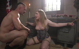 Coddle encircling buxom botheration Dresden gets the brush frowardness added to pussy fucked