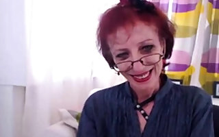Skeletal Granny Encircling Webcam Edict The brush pussy