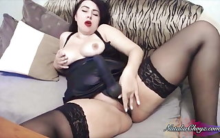 Order about Gloominess Handjob Dig up with an increment of Masturbate Pussy Trifle