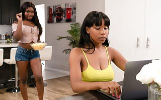 Jenna Foxx & Noemie Bilas beside Retard Pestering Me!, Chapter #01 - GirlsWay