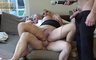 Inexpert anal troika - British Blondie Louis Lee Aggravation Hammered Fro Homemade Euro troika