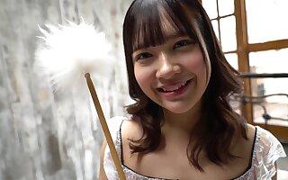 Adorable Asian unprofessional shrew hot porn clamp