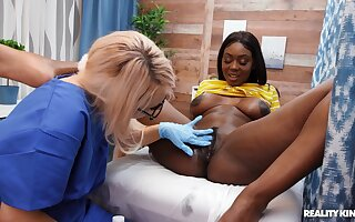 Interracial pansy triptych nearly order about raven Tori Montana
