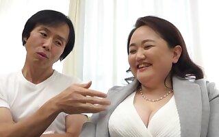 Big Japanese grown-up Sakuragi Junko moans via pleasuring